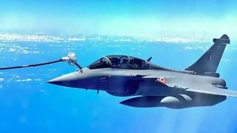 five rafale jets to land today
