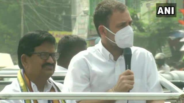 Congress leader Rahul Gandhi reached Coimbatore, said- Modi will not respect Tamil Nadu culture, language