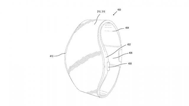 Apple brevetează un ecran rulabil ce poate fi utilizat pe