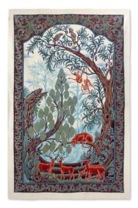 Batik Wall Art - Flora and Fauna | NOVICA