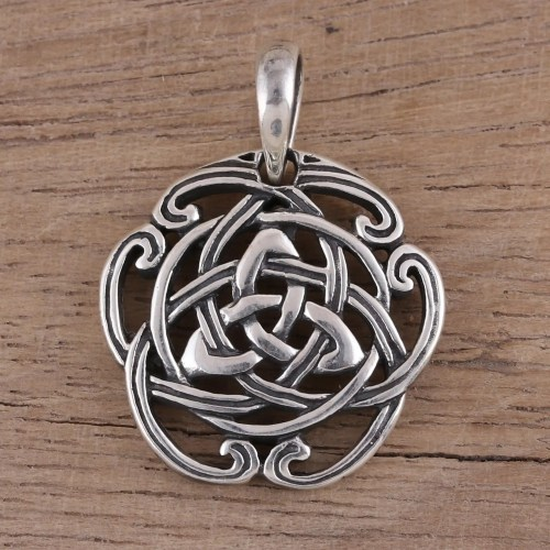 small resolution of celtic knot sterling silver pendant from india artisan celtic reverie