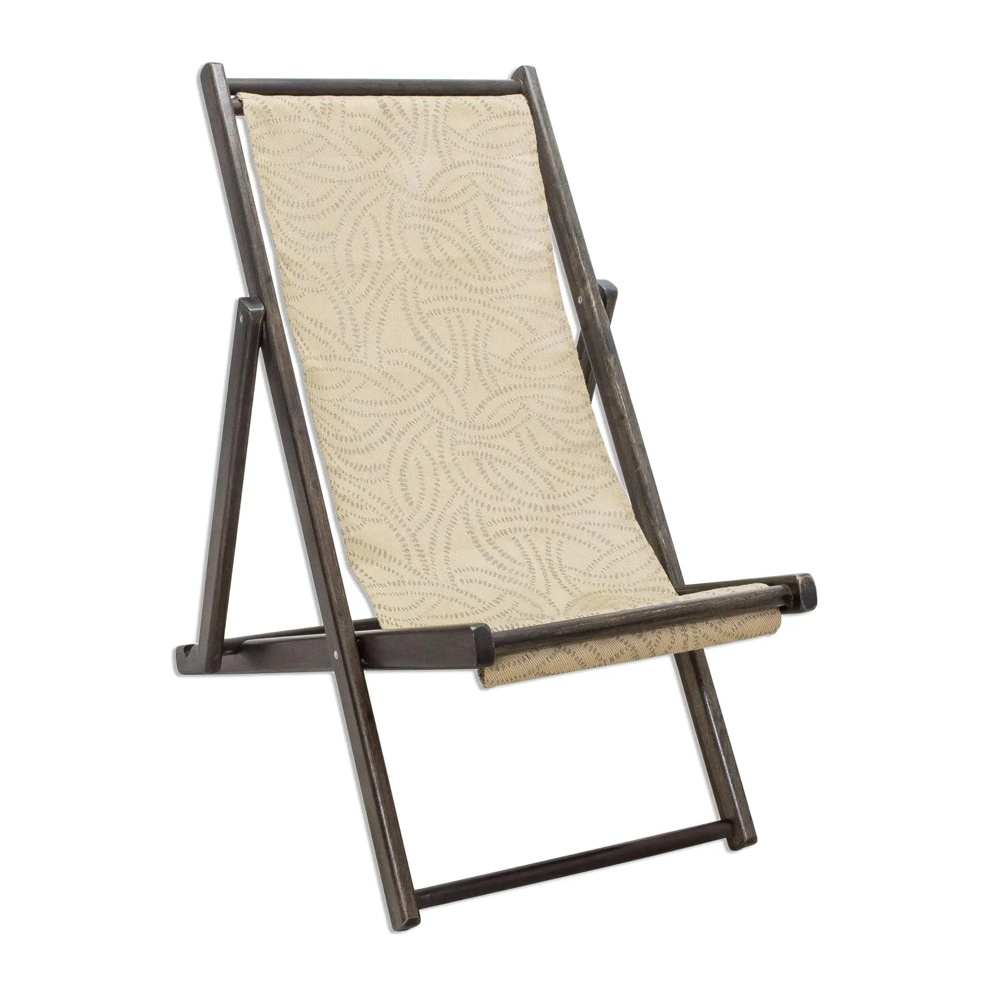 Folding Lounge Chair Wood And Canvas Adjustable Folding Lounge Chair Small Forest Whisper
