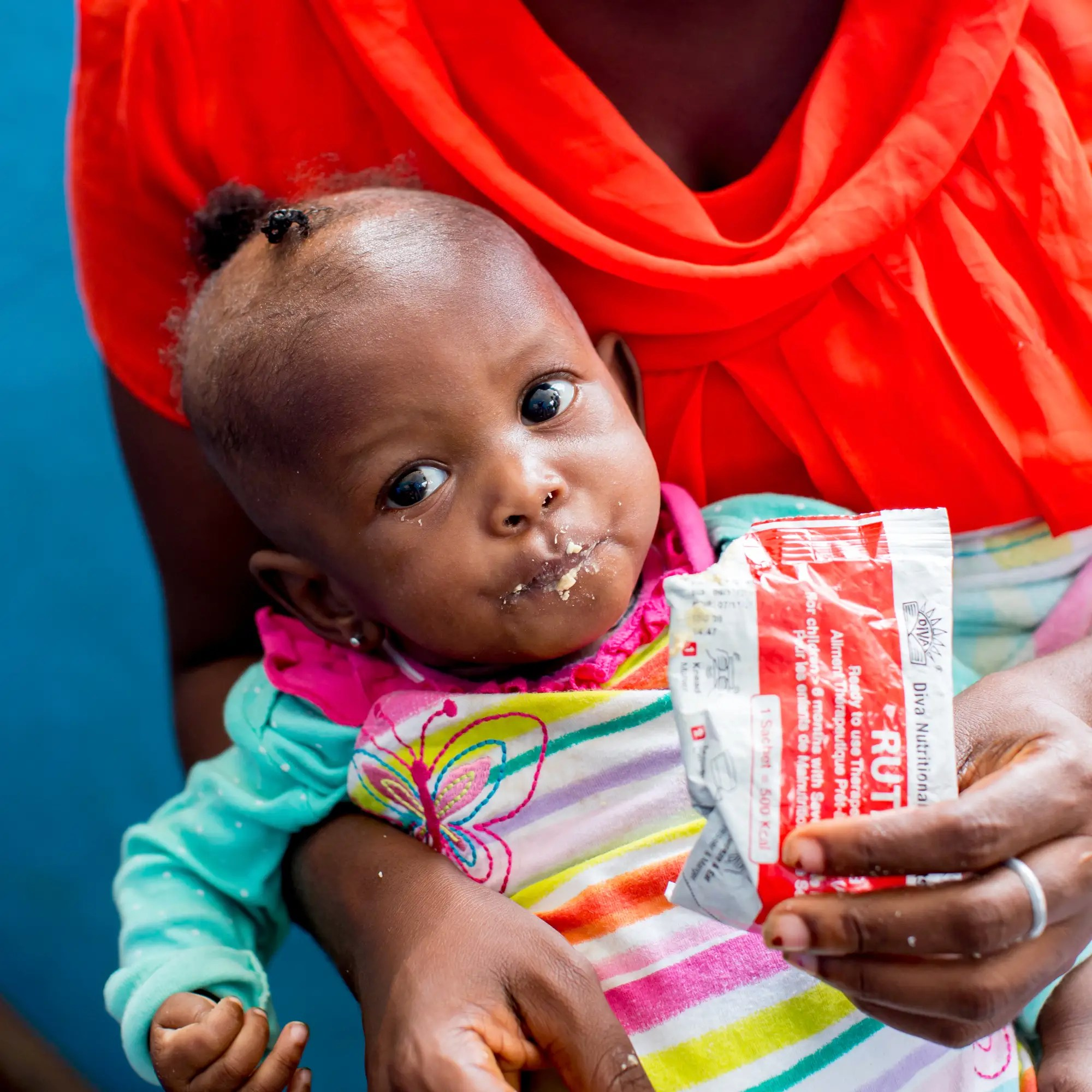Unicef UK Market Peanut Paste To Save A Child From
