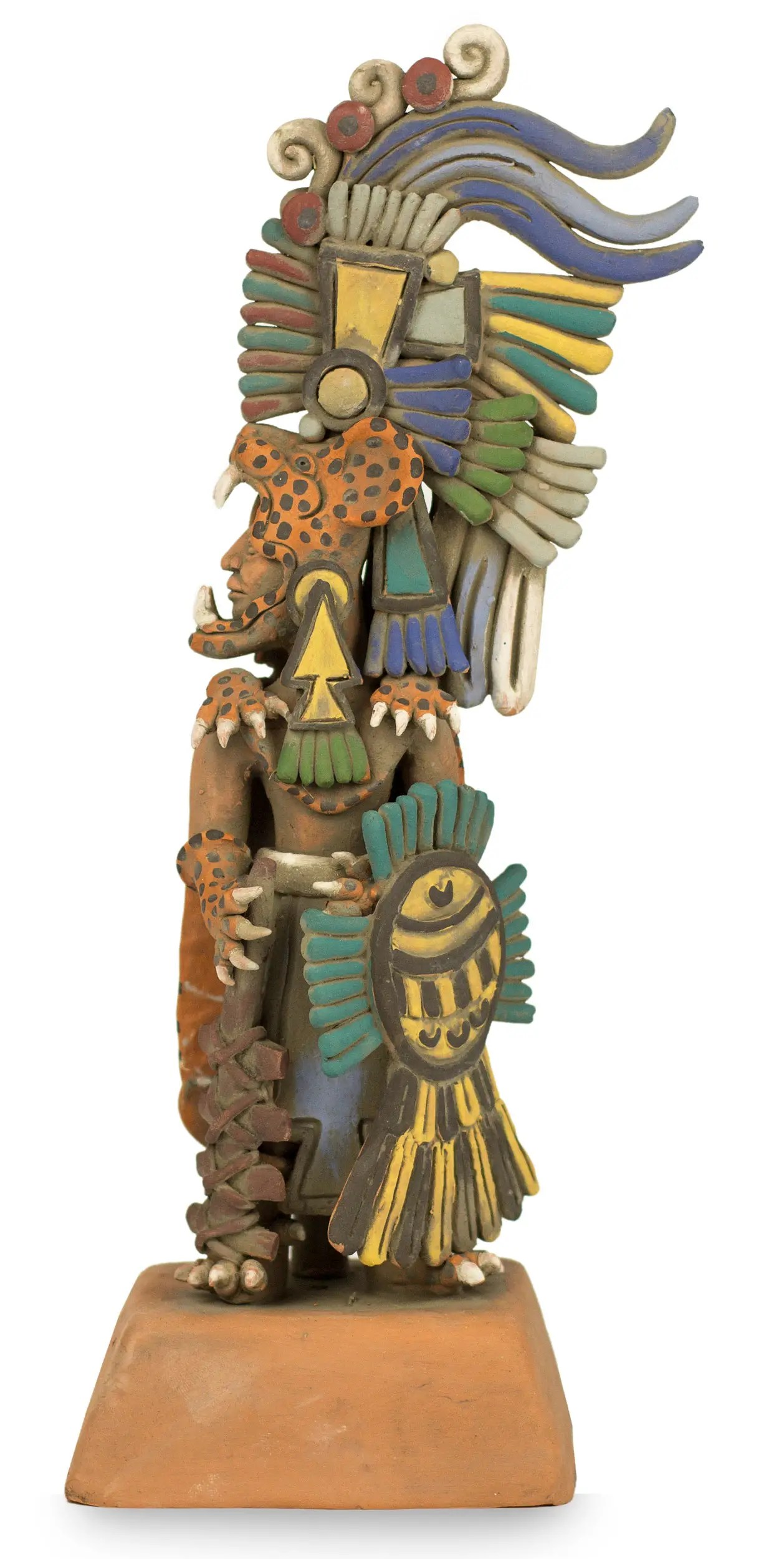 Unicef UK Market Aztec Museum Replica Ceramic Sculpture