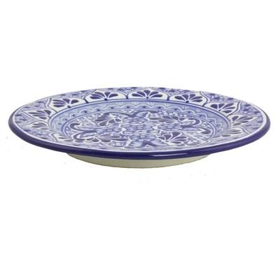 mexican blue talavera style