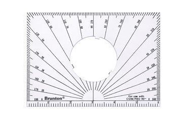 Brunton Alidade Protractor (Use w/ COM-PRO and Pocket