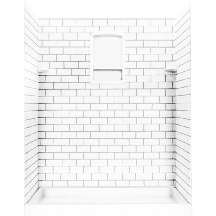 swanstone ssst 3696 1 010 subway tile wall panel 36 x 96 white
