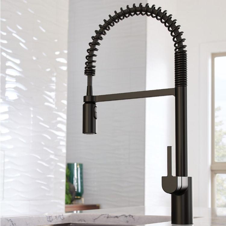 moen 5923bl align pre rinse pulldown kitchen faucet matte black