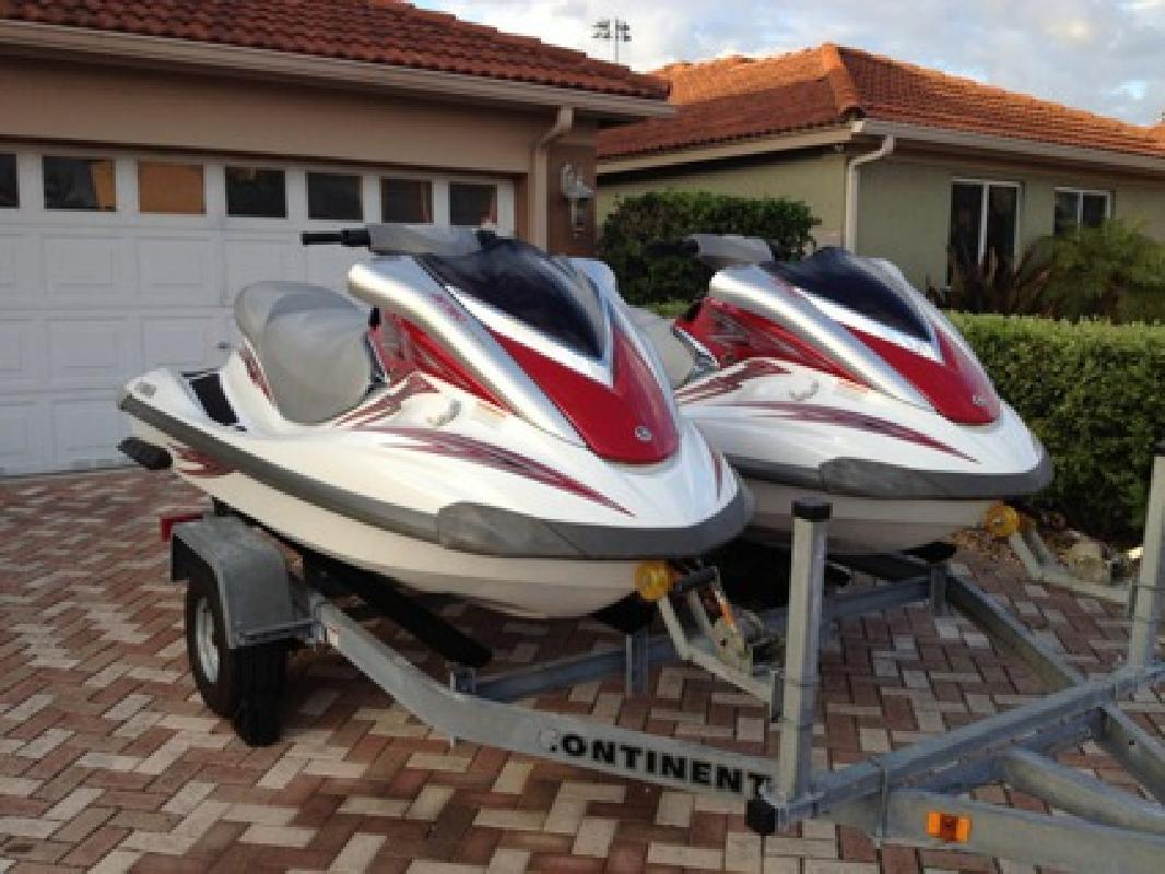 2780 Pair Of 2008 Yamaha Fx 3 Seaters Wave Runners