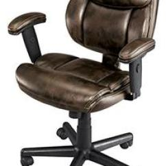 Brenton Studio Task Chair Upholstered Office With Casters Fabric Mid Back Black Searchub Ariel Brown