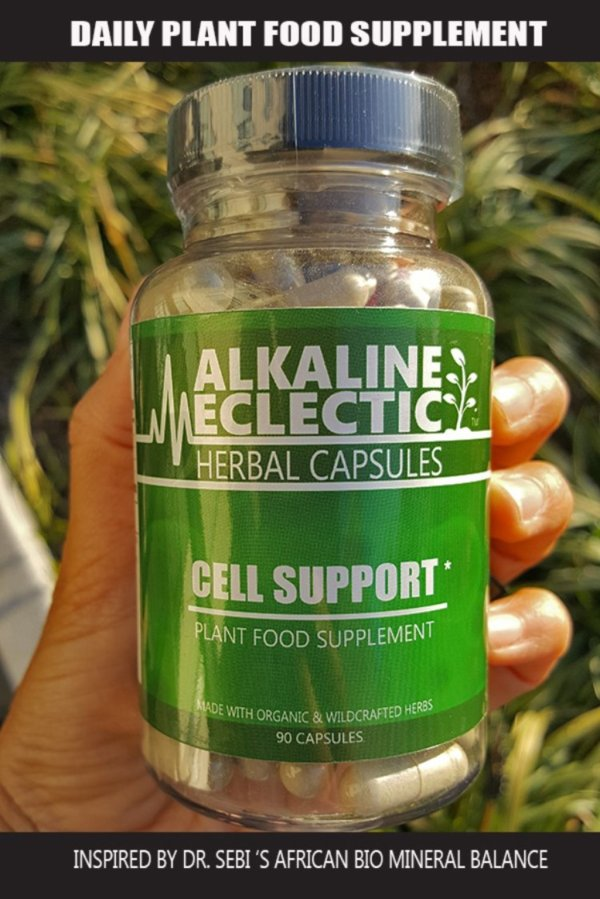 Cell Support Herbal Capsules Alkaline Eclectic Digital Store