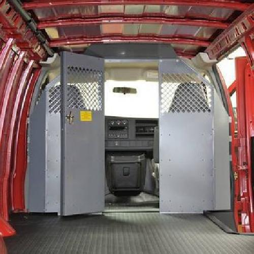100 Cargo Van Divider And Tool Box Compartment For Sale