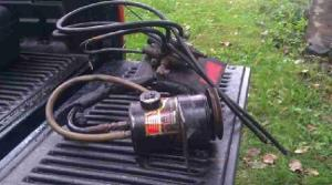 $150 Fisher Minute Mount Plow Hydraulic Pump with extras (Dracut Ma) for sale in Boston