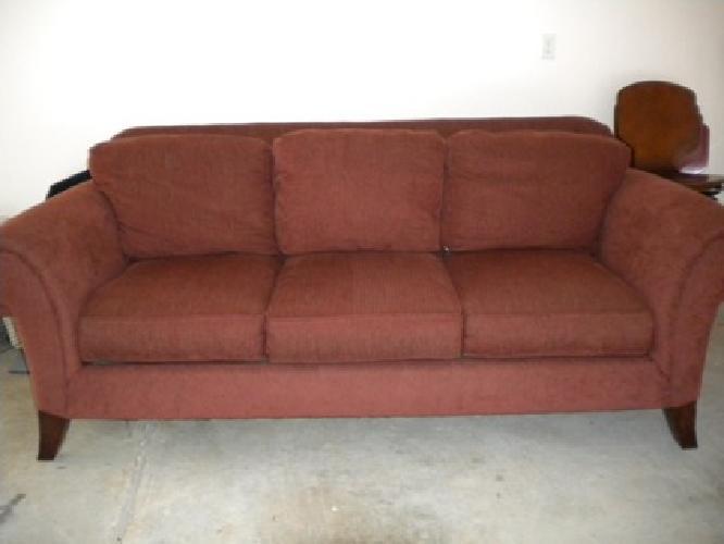 Rust Colored Sofa  TheSofa