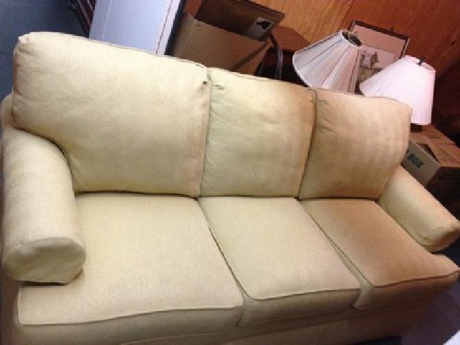 paramount sofa ethan allen shallow depth uk $1,150 obo