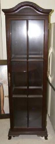 $200 Bombay Company Lighted Curio Cabinet for sale in ...