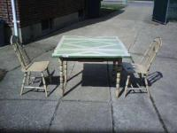 $200 Circa 1930s 1940s Kitchen Table & Chairs for sale in ...