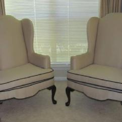 Dark Brown Dining Chair Covers Tempur Pedic Office $300 Two Ethan Allen Wingback Chairs For Sale In Port Neches, Texas Classified | Showmethead.com