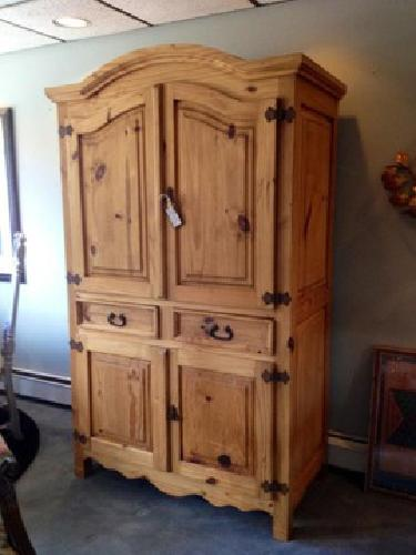 400 Rustic Pine Armoire For Sale In Carver Minnesota