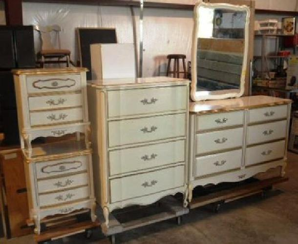 450 OBO French Provincial QUEEN or FULL BEDROOM SET for sale in Gainesville Florida Classified
