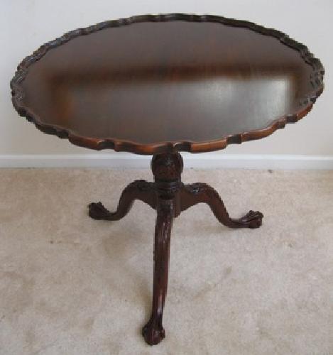 Tilt Top Tea Table for Sale
