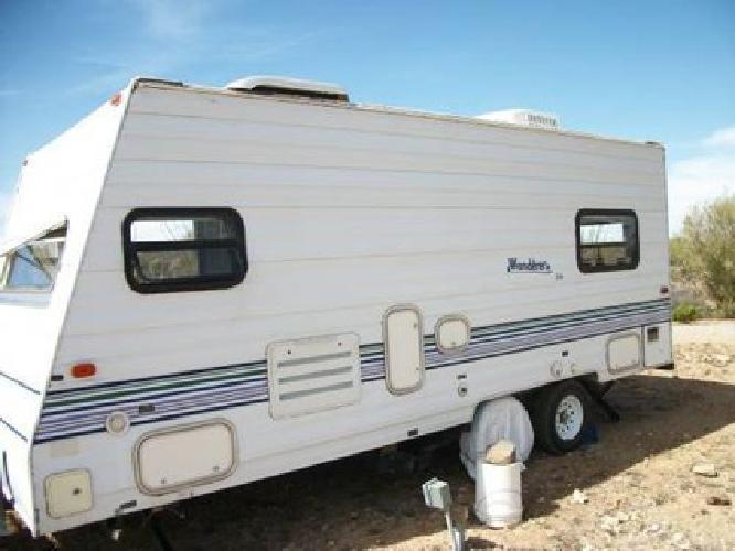 $4.900 1998 Wanderer Lite 21 Ft. Travel Trailer for sale in Tucson. Arizona Classified | ShowMeTheAd.com