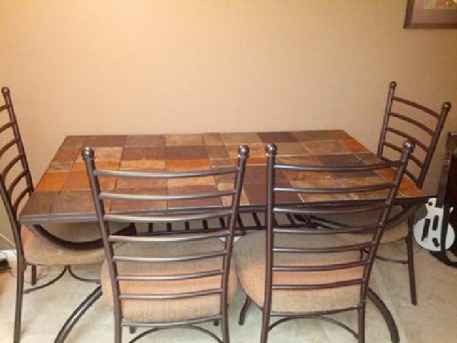 500 OBO Ashley Furniture Antigo Slate Tables For Sale In