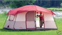 $50 COLEMAN OASIS 2 ROOM CABIN TENT 8 PERSON 14x10 for ...