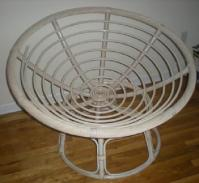 $75 Wicker Disk and Saucer Chair for sale in Hoboken, New