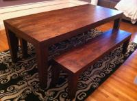 $800 OBO West Elm Carroll Farm Dining Table & Benches for ...
