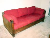 Cargo - This End Up Queen Size Sleeper Sofa/ Chair ...