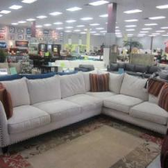 Large Sectional Sofa With Ottoman Steve Silver Rafael Table Gigantic Weekend Overstock Furniture Clearance Sale!!! (2 ...