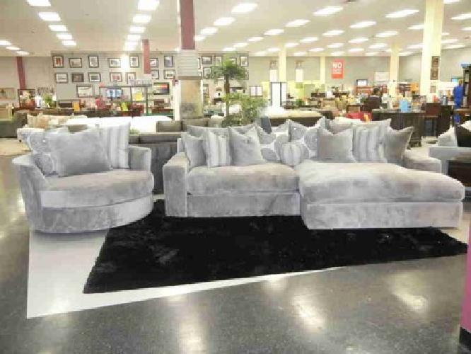 large plush sectional sofa small apartment sofas nyc extra deep new encore and swivel cuddler chair for 1 999