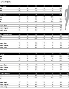 Haglofs size chart also guide rh sportpursuit
