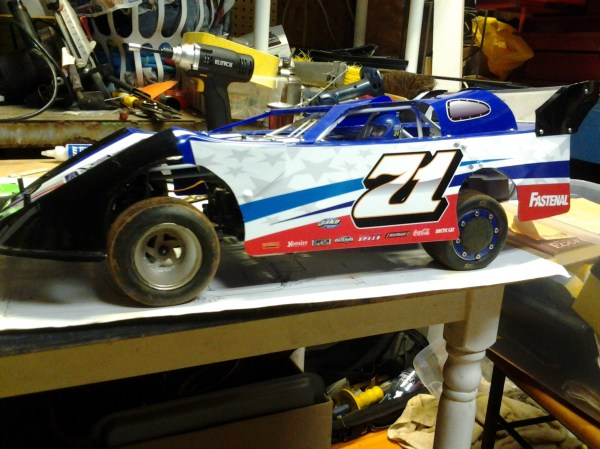 RC Late Model Dirt Track Cars
