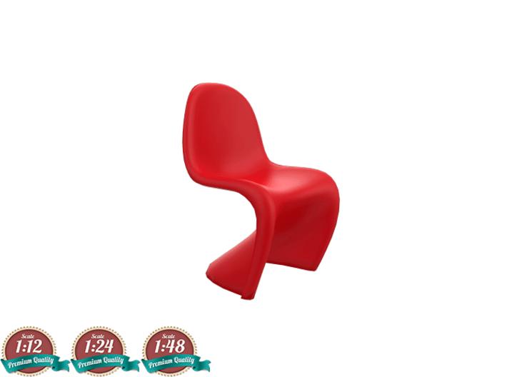 vernon panton chair headrest for barber miniature verner jvrrpf6ua by sensaiku 3d printed