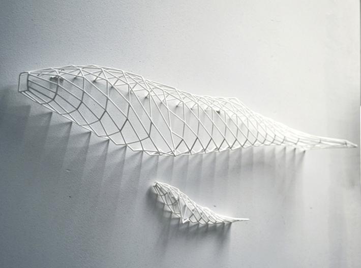 wall decoration whales szmujsqss by dominikraskin