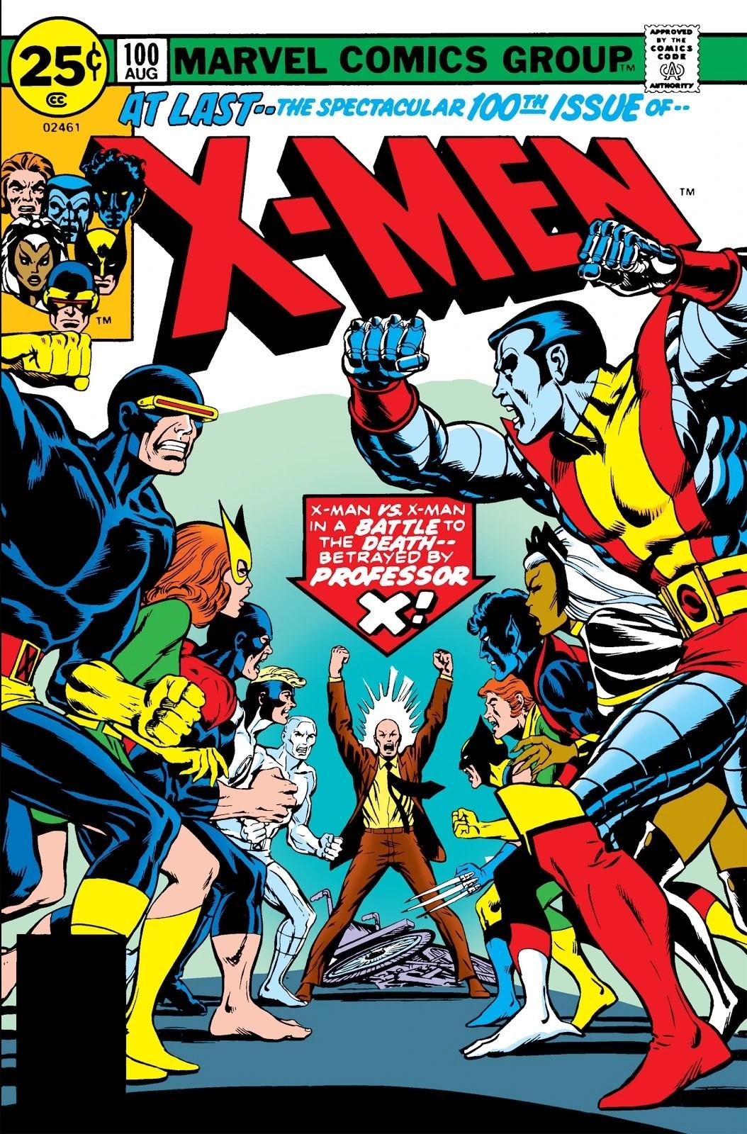 Greater Love Hath No X-Man. . . .