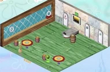 krusty krab inside restaurant spongebob cartoons many plankton 1v1 wikia krabby customers blast vs rivalry rivals shares restaurants arena