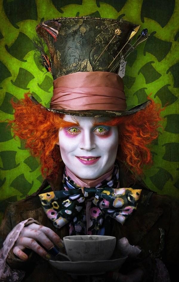 Johnny Depp Mad Hatter Alice