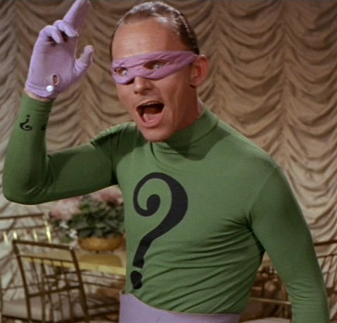 The Riddler - really responsible for all the crimes police are struggling to solve?