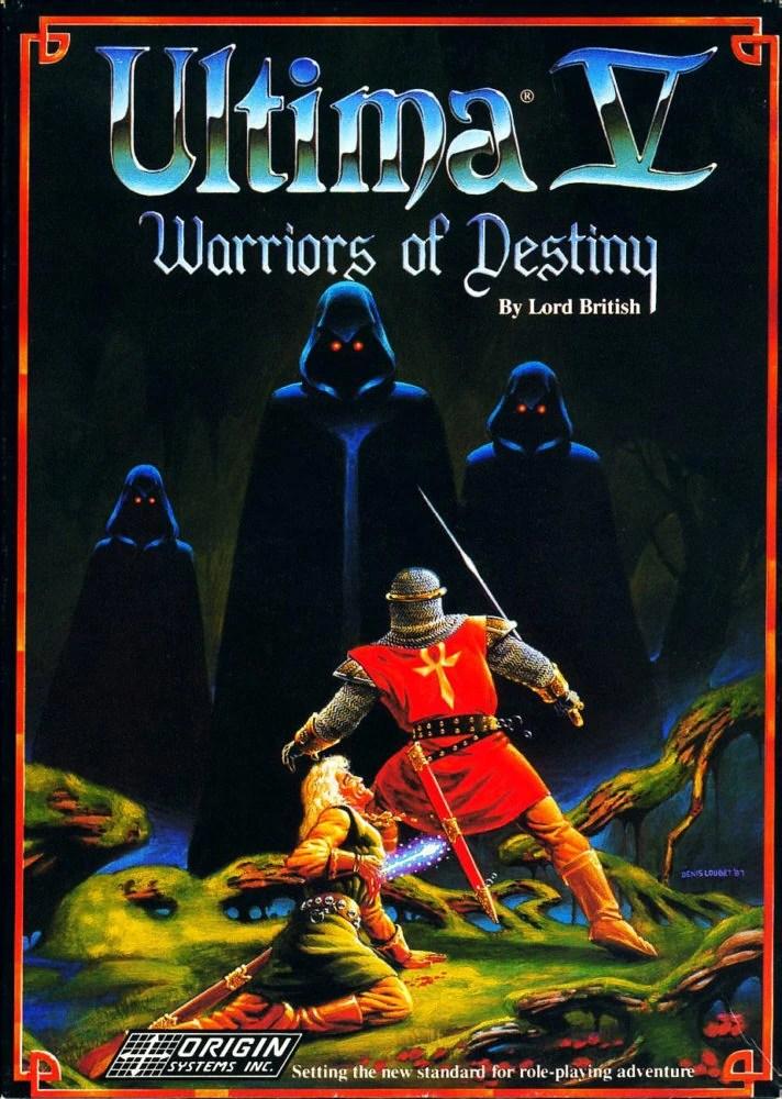 Ultima V Cover