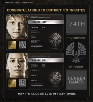 district 1 hunger games names