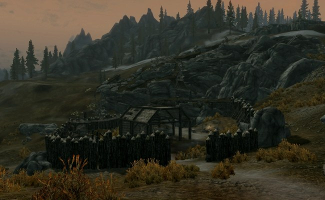 Halted Stream Camp The Elder Scrolls Wiki