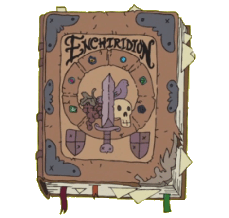 Source: http://adventuretime.wikia.com/wiki/The_Enchiridion_(book)