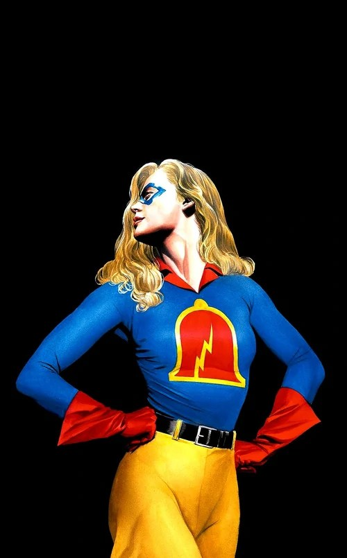 Girl Superheros Wallpaper Liberty Belle Dc Comics Database