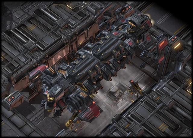 Starcraft 2 Terran Cruiser