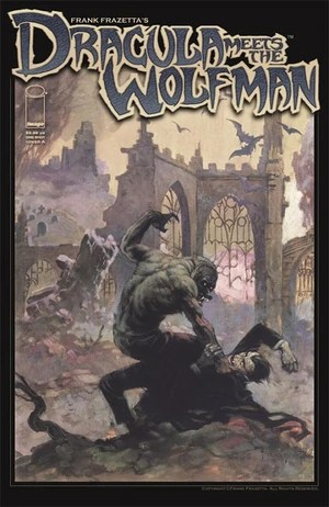 Dracula Meets Wolf Man Cover A