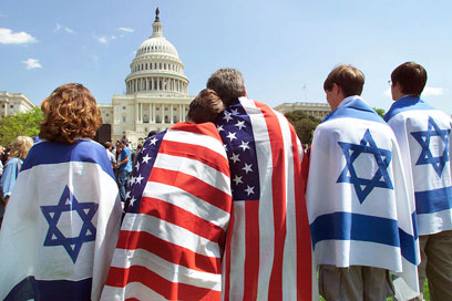 Gallup poll shows 70% of Americans view Israel favorably (Photo: AP)