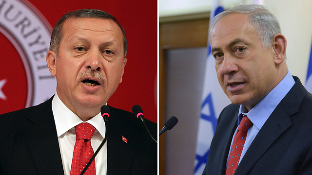 Erdogan, Natanyahu (Photo: AP, Kobi Gideon, GPO)